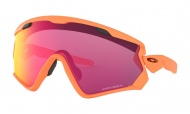 OAKLEY Wind Jacket 2.0 Matte Neon Orange w/Prizm Road