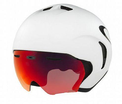 Cyklistická helma OAKLEY ARO7, White/Prizm Road