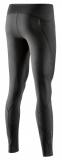 Kompresní prádlo SKINS A400 Womens Long Tights Skyscraper, Black (dámské aktivní kompresní dlouhé kalhoty)