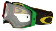 OAKLEY Airbrake MX Glitch Rasta W/Clear