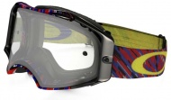 OAKLEY Airbrake MX Rain of Terror Red Blue W/Clear