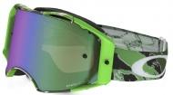 OAKLEY Airbrake MX Tomac Neon Green Camo W/Prizm Jade Iridium