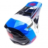 MX Integrální Helma 100% AirCraft DH MIPS, R8 Blue Carbon