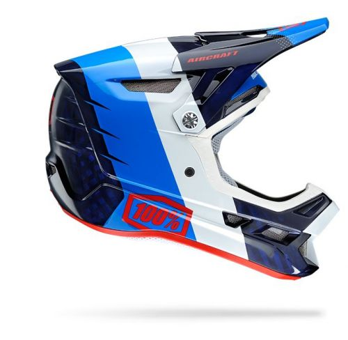MX Integrální Helma 100% AirCraft DH MIPS, R8 Blue Carbon