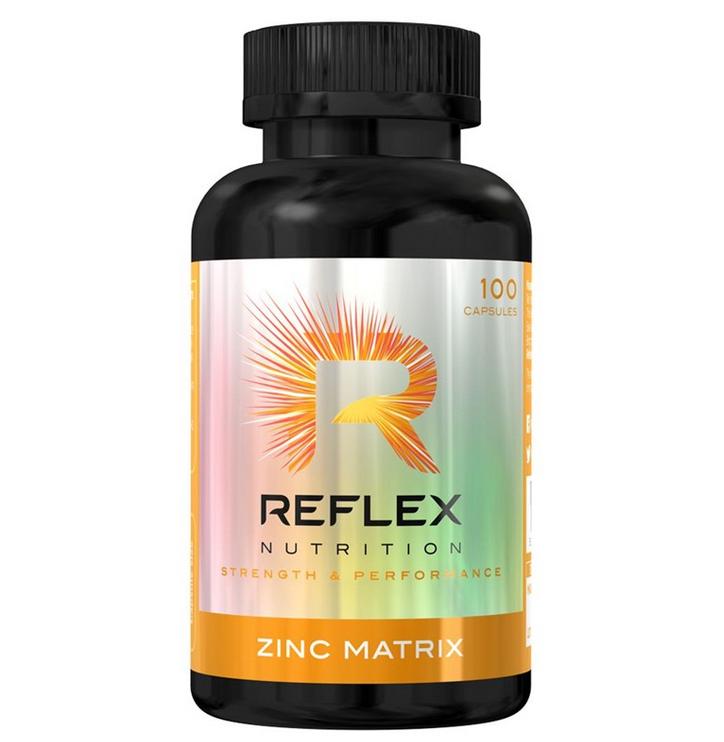 Reflex Nutrition Zinc Matrix, 100 kapslí