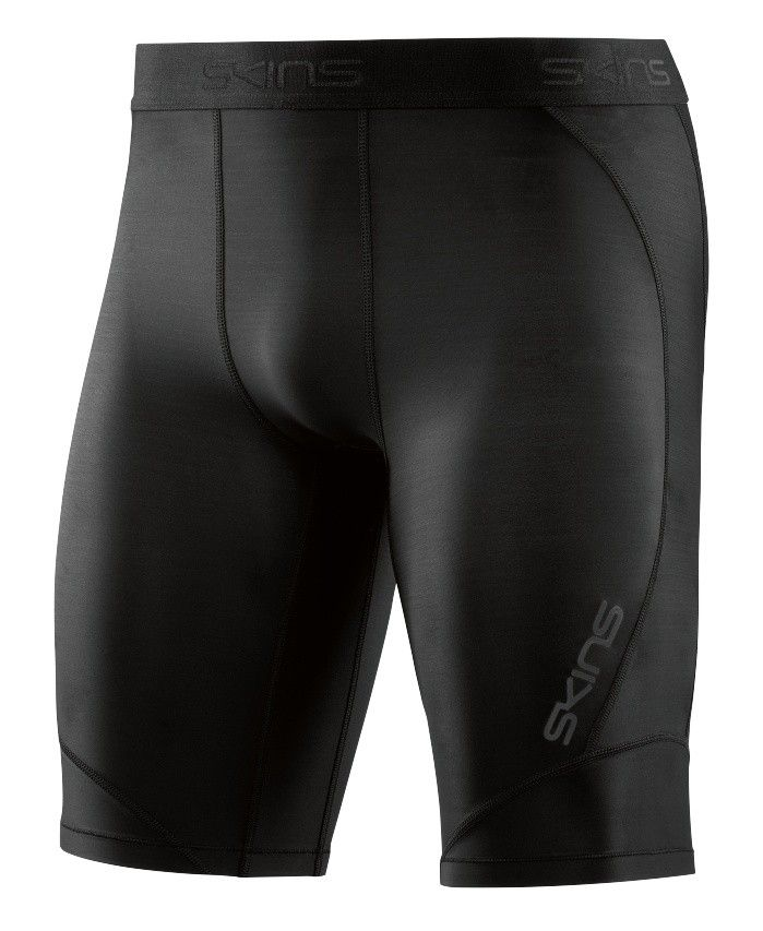 SKINS DNAmic Mens Half Tights, Black
