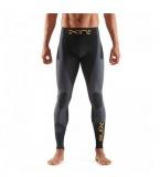 SKINS K-Proprium Mens Compression Long Tights, Carbon (pánské kompresní dlouhé kalhoty SKINS)