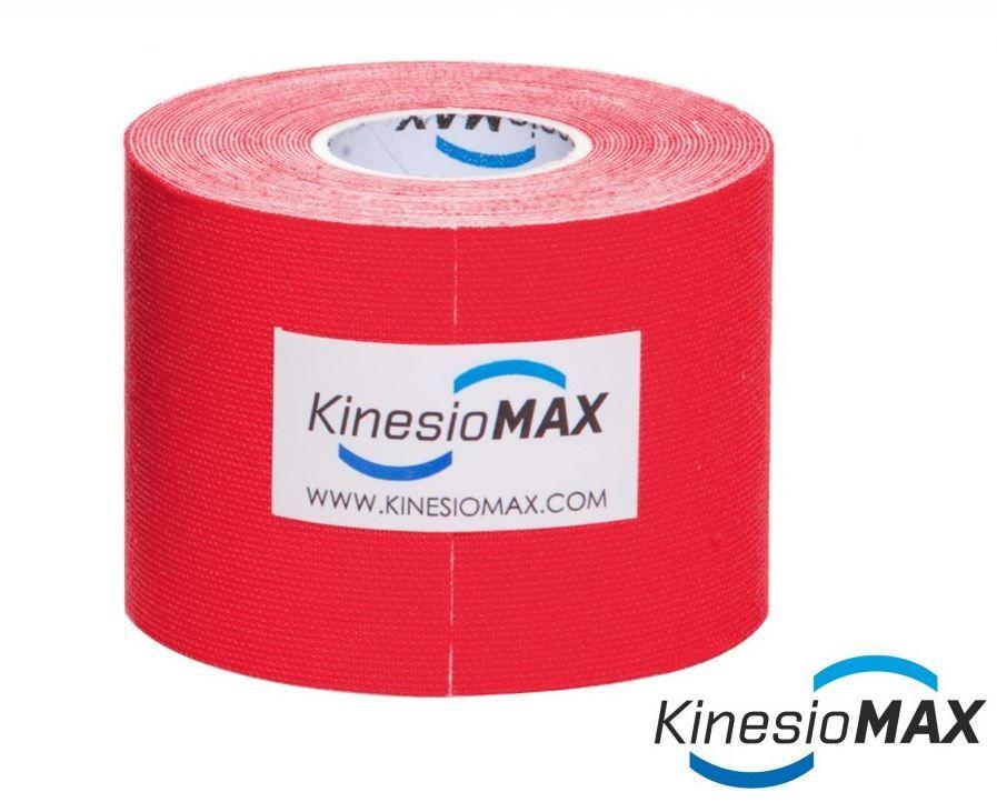 KinesioMAX Tape 5cmx5m - červený