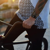 Fitness náramek NICEBOY X-Fitpolo, černá