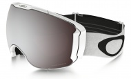OAKLEY Airbrake XL Polished White W/Prizm Black & Prizm Hi Pink
