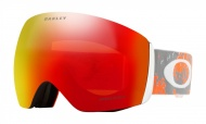 OAKLEY Flight Deck Arctic Fracture Sharkskin Orange w/Prizm Torch