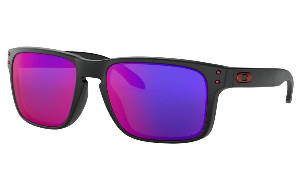 Brýle OAKLEY Holbrook - Matte Black/Positive Red Iridium
