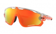 OAKLEY Jawbreaker - Crystal Pop W/Fire Iridium