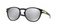 OAKLEY Latch VR46 - Matte Black W/Chrome Iridium