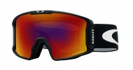 OAKLEY LineMiner Youth Matte Black W/Prizm Torch