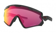 OAKLEY Wind Jacket 2.0 Polished Black w/Prizm Road