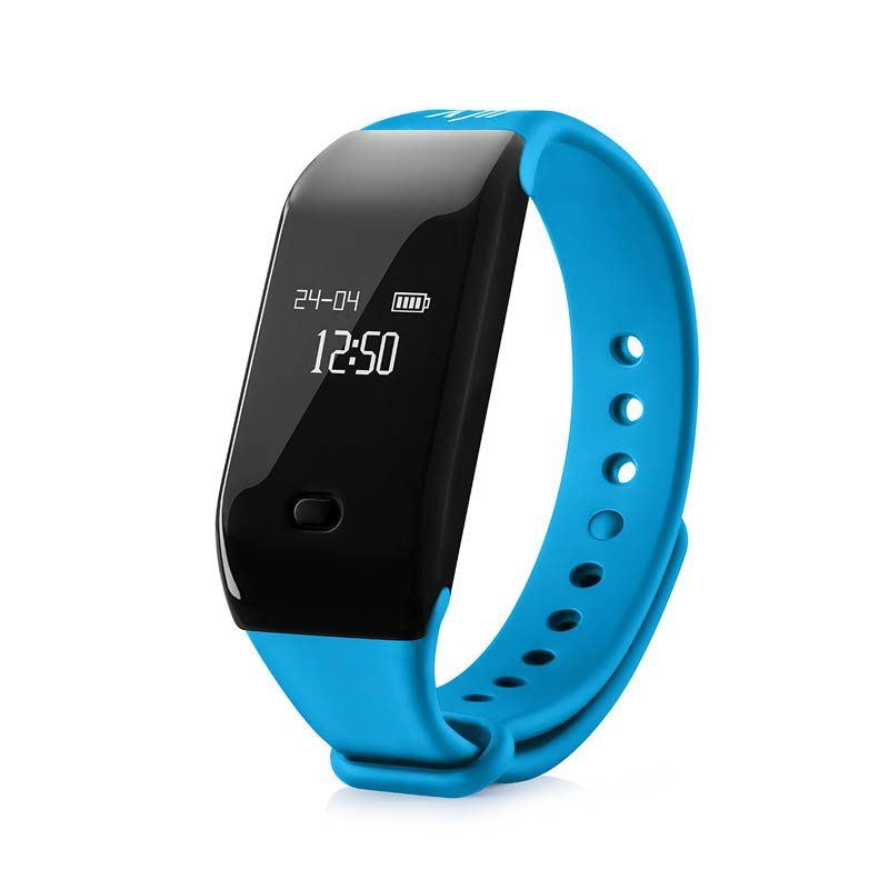 Fitness náramek NICEBOY X-Fitpolo, modrá