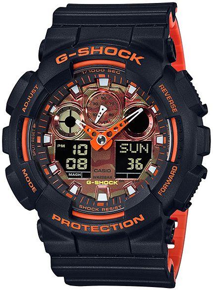 Hodinky CASIO G-Shock GA 100BR-1A
