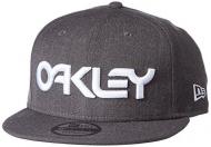 OAKLEY Mark II Novelty New Era Snap Back, Heather Grey