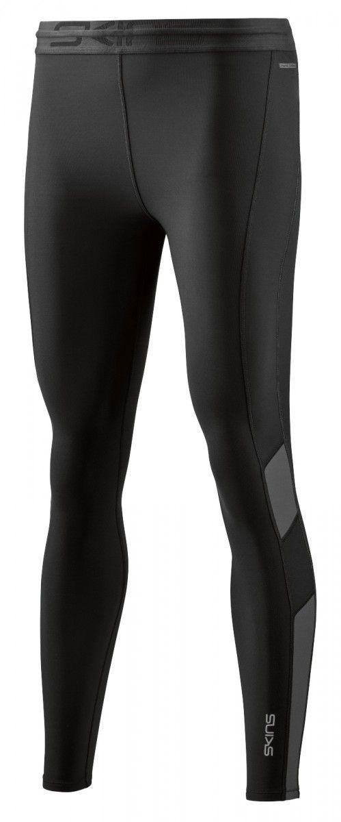 SKINS DNAmic Thermal Womens Long Tights, Black/Charcoal (dámské zateplené kompresní kalhoty SKINS)