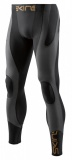 SKINS K-Proprium Mens Compression Long Tights, Charcoal