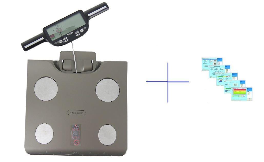 Analytická váha TANITA BC-601 a software GMON pro BC a UM série + baterie a doprava ZDARMA!