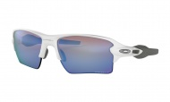 OAKLEY Flak 2.0 XL - Polished White w/Prizm Deep Water H2O Polarized
