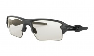 OAKLEY Flak 2.0 XL - Steel w/Clear to Black Photochromic
