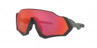 OAKLEY Flight Jacket - Matte Steel w/Prizm Trail Torch