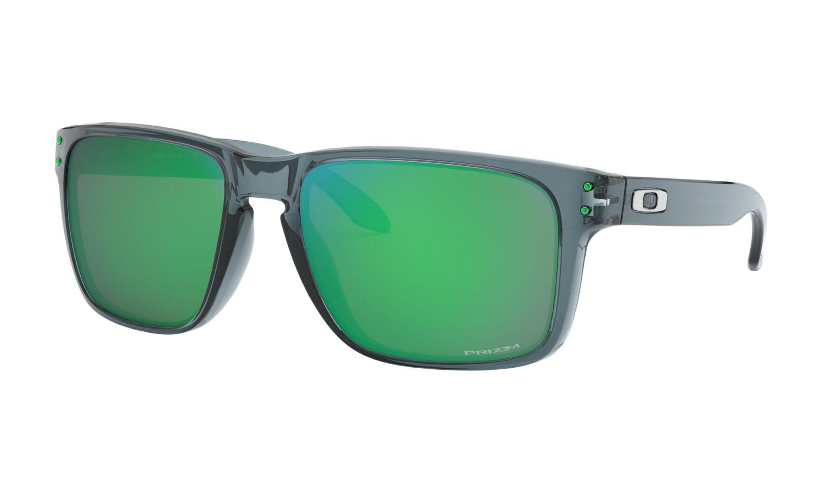 Brýle OAKLEY Holbrook XL - Crystal Black w/Prizm Jade