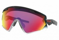 OAKLEY Wind Jacket 2.0 Black Fade w/Prizm Road