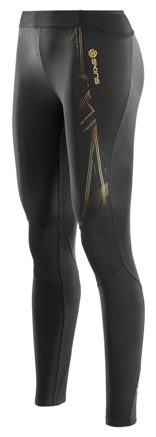SKINS A400 GOLD Womens Long Tights
