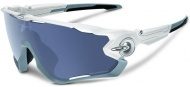 OAKLEY Jawbreaker - Polished White/Grey Polarized