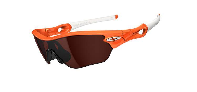Sportovní brýle Oakley Radar Edge - Womens Orange Flare/VR28 Black Iridium