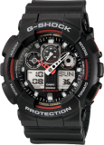 CASIO G-Shock GA 100-1A4 - Red