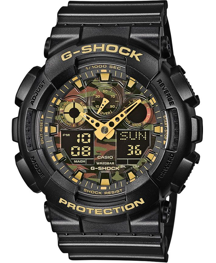 Hodinky CASIO G-Shock GA 100CF-1A9
