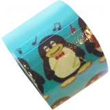 BB Tape s designem tučňáka - 5cmx5m