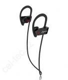 CEL-TEC BS4 Sport bluetooth sluchátka - černá