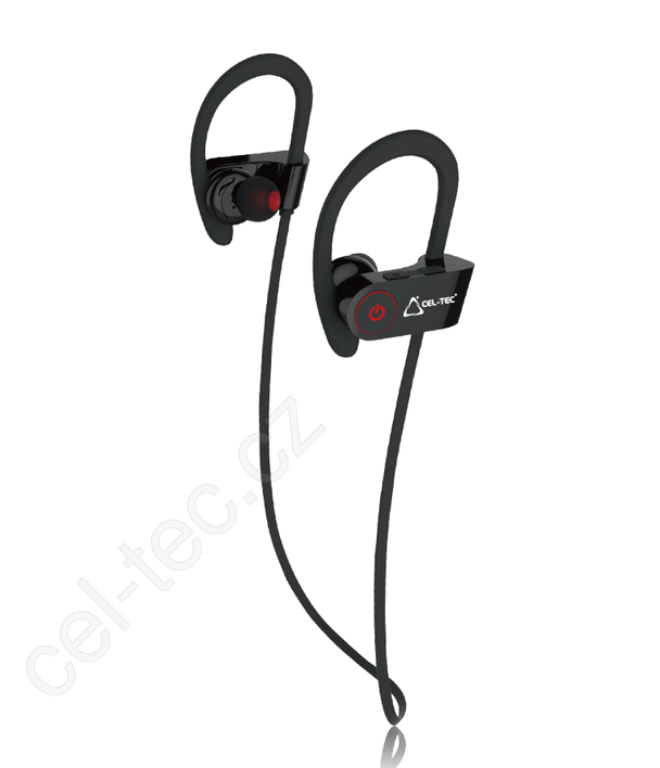 Bluetooth sluchátka CEL-TEC BS4 Sport - černo/zelená