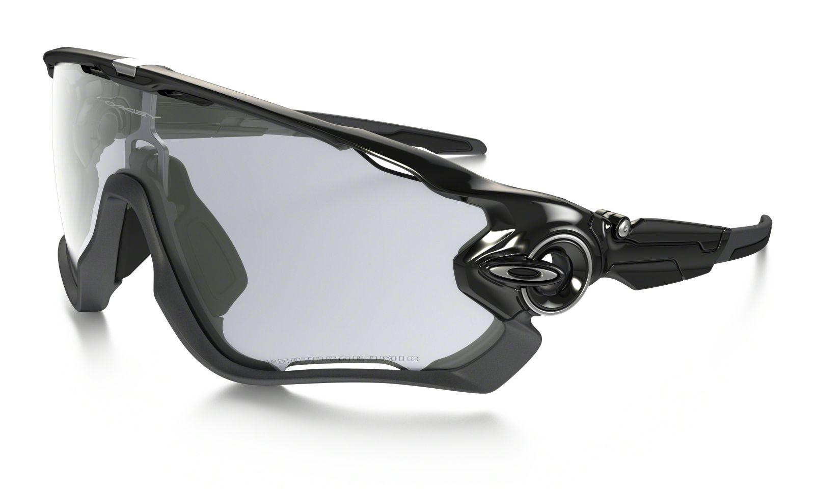 Brýle OAKLEY Jawbreaker - Polished Black/Clear Black Iridium Photochromatic