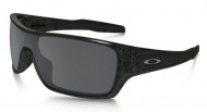 OAKLEY Turbine Rotor - Black Silver Ghost Text W/Black Iridium