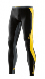 SKINS DNAmic Mens Long Tights - Black/Citron
