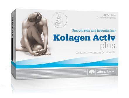 Kolagen Activ Plus, 80 tablet, Olimp OLIMP Sport Nutrition
