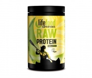 LifeFood, Raw proteinová směs se superfoods - vanilková s mladým ječmenem a macou, 450g