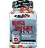 Weider, Burn & Balance Capsules, 90 kapslí