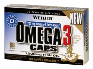 Weider, Omega 3 Caps, 60 kapslí