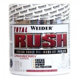 Weider, Total Rush Fusion Force Pre-Workout Powder, 375 g, Brusinka