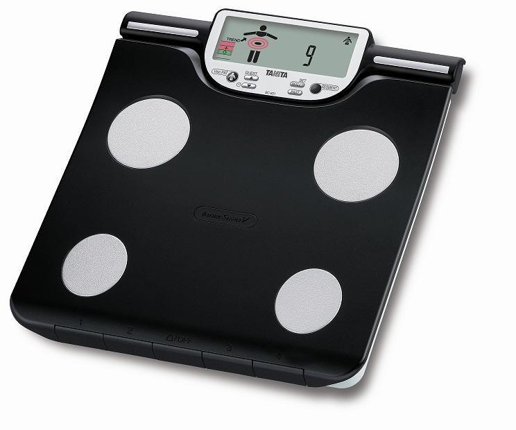 Analytická váha TANITA BC-601, černá + baterie a doprava ZDARMA!