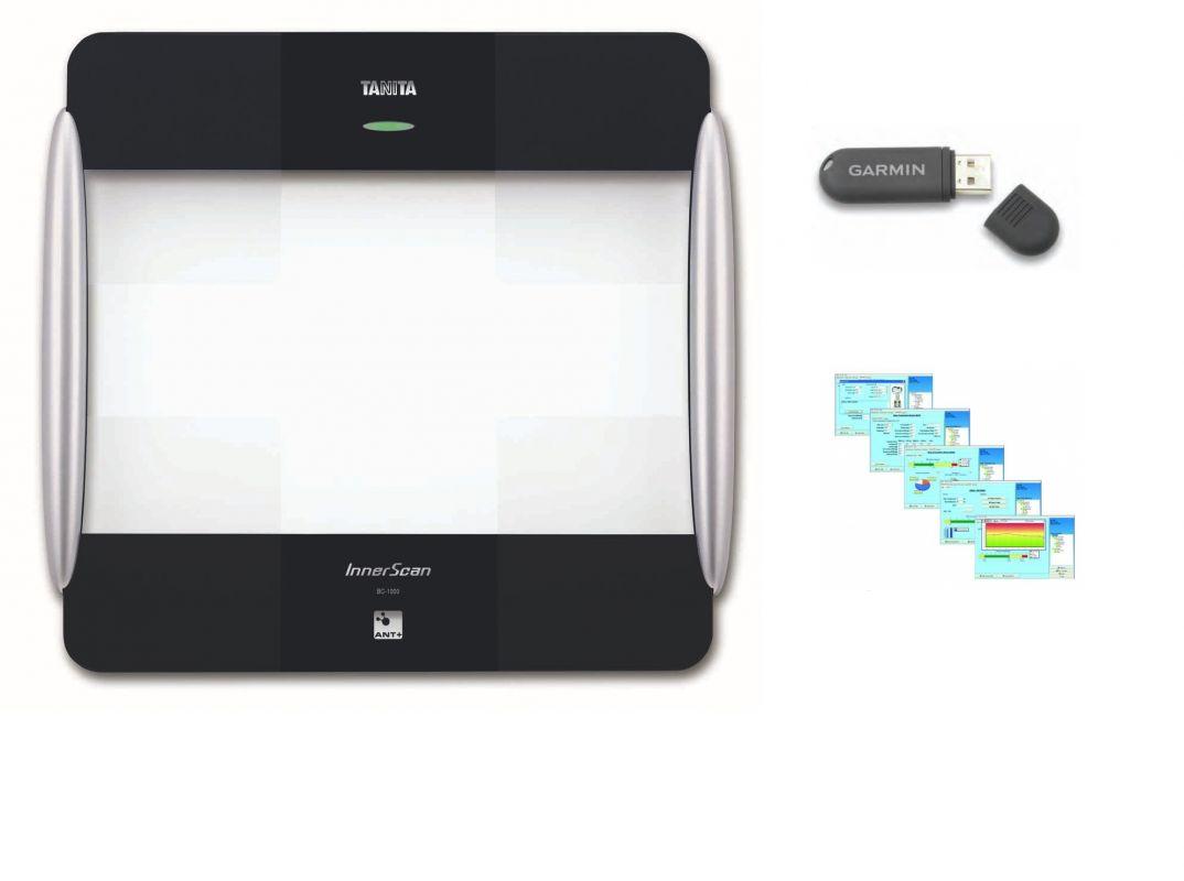 TANITA BC-1000 + USB ANT + GMON 1000 PRO