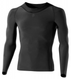 SKINS RY400 Mens Long Sleeve Top, Black